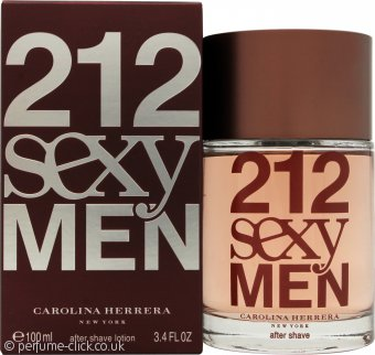Carolina Herrera 212 Sexy  Men Aftershave 100ml Splash