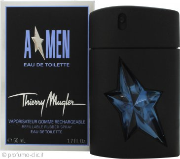 Thierry Mugler A*Men Rubber Flask Eau de Toilette 50ml Spray - Ricaricabile