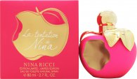 Nina Ricci La Tentation de Nina Eau de Toilette 80ml Spray