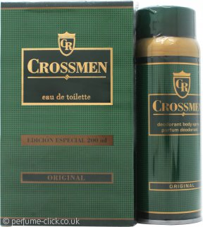 Coty Crossmen Original Gift Set 200ml EDT + 150ml Deo Spray