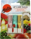 Malibu Presentbox 3 x Lip Care Balm - WMV