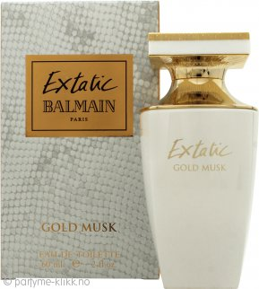 Balmain Extatic Gold Musk Eau de Toilette 60ml Spray