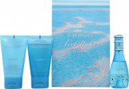 Davidoff Cool Water Woman Gavesett 30ml EDT + 50ml Body Lotion + 50ml Shower Gel