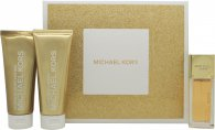 Michael Kors Sexy Amber Geschenkset 50ml EDP + 100ml Bodylotion + 100ml Douchegel