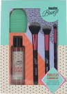 Sunkissed Beautiful Bronze Brush Cleansing Kit 3 x Brochas + 120ml Gel Limpiador + Almohadilla Limpiadora