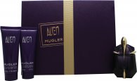 Thierry Mugler Alien Set de Regalo 30ml EDP Recargable + 50ml Loción Corporal + 50ml Leche Corporal de Ducha
