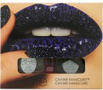 Ciaté Caviar Manicure Gift Set 13.5ml Nail Polish + 20 g Black Caviar Pearls + Funnel + Tray