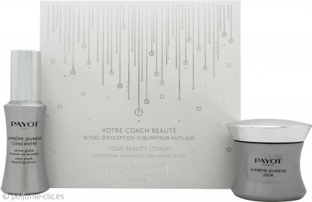 Payot Supreme Jeunesse Set de Regalo 50ml Youth Enhancing Crema de Día + 30ml Total Youth Boosting Serum
