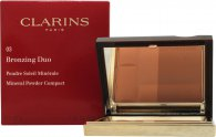Clarins Bronzing Duo Mineral Polvo 10g - Oscuro