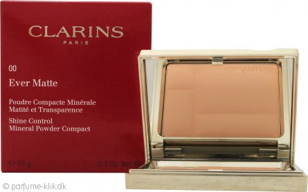 Clarins Ever Matte Mineral Powder Compact 10g - 00 Transparent Opal