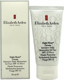 Elizabeth Arden Eight Hour Cream Intensive Daily Moisturizer for Face 50ml SPF15