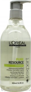 L'Oreal Scalp Pure Resource Shampoo 500ml