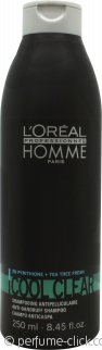 L'Oreal Professionnel Homme Cool Clear Anti-Dandruff Shampoo 250ml