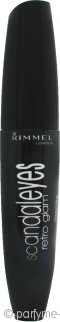 Rimmel Scandaleyes Retro Glam Mascara 12ml - 003 Extreme Black