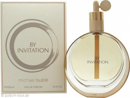 Michael Buble By Invitation Eau de Parfum 100ml Spray