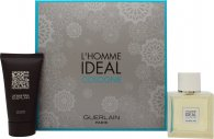 Guerlain L'Homme Ideal Cologne Gavesæt 50ml Cologne Spray + 75ml Shower Gel