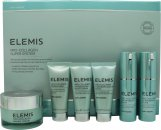 Elemis Pro-Collagen Super System Gavesæt 30ml Marine Cream + 15 Oxygenating Night Cream + 15ml Marine Mask + 15ml Neck and Décolleté Balm + 2 x 15ml Super Serum Elixir