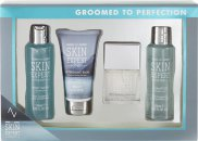Style & Grace Skin Expert Groomed to Perfection Gift Set 50ml EDT + 120ml Body Wash + 80ml Aftershave Balm + 120ml Shampoo