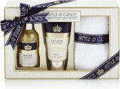Style & Grace Signature Footcare Pamper Kit Gift Set 100ml Foot Soak + 70ml Foot Lotion + Socks