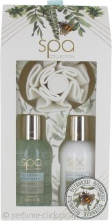 Style & Grace Spa Botanique Mini Spa Treats Gift Set 100ml Body Wash + 100ml Body Lotion + Shower Flower