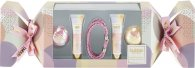 Style & Grace Bubble Boutique Beauty Cracker Gift Set 2 x 0.3oz (10ml) Lipgloss + 2 x 50g Bath Fizzer + Bracelet