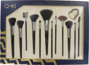 Q-KI Super Pro Brush Set - 13 Pieces