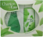 Coty Chanson d'Eau Gift Set 100ml EDT + 200ml Shower Gel