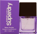 Superdry Neon Purple Eau de Cologne 25ml Vaporizador