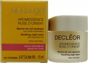 Decleor Aroma Night Rose D'Orient Soothing Nachtlotion (Selnsible & Leicht Irritierte Haut) 15ml