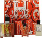 Hermès Terre d'Hermès Gift Set 75ml EDP + 12.5ml EDP + 40ml Aftershave Balm
