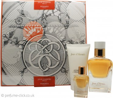 Hermès Jour d'Hermès Absolu Gift Set 50ml EDP + 30ml Body Lotion + 7.5ml EDP Purse Spray