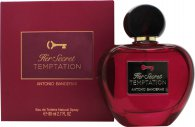 Antonio Banderas Her Secret Temptation Eau de Toilette 2.7oz (80ml) Spray