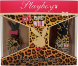 Playboy Play It Wild for Her Gift Set 30ml EDT + 250ml Shower Gel