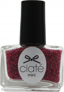 Ciaté Caviar Manicure Nail Topper 5ml - Rose Rush