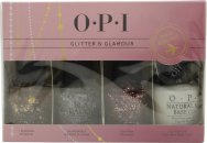 OPI Glitter + Glamour Gift Set 4 x 15ml Nail Polish + Cuticle Pen