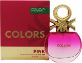 Benetton Colors de Benetton Pink Eau de Toilette 50ml Spray