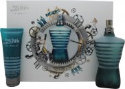 Jean Paul Gaultier Le Male Geschenkset 125ml EDT + 75ml Alles-in-1 Douche Gel