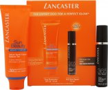 Lancaster Perfect Glow Gavesæt 50ml Solcreme SPF 30 + 10ml 365 Skin Repair Serum