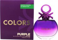 Benetton Colors de Benetton Purple Eau de Toilette 80ml Spray