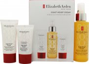 Elizabeth Arden Eight Hour Cream Set de regalo 100ml All Over Miracle Oil + 30ml Hand Treatment + 15ml  Protector de piel