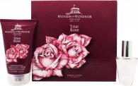Woods Of Windsor True Rose Gift Set 30ml EDT Spray + 125ml Hand/Nail Cream