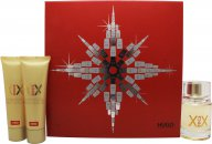 Hugo Boss XX Gavesett 60ml EDT + 50ml Body Lotion + 50ml Shower Gel