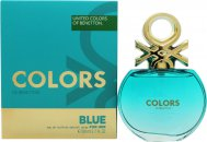 Benetton Colors de Benetton Blue Eau de Toilette 80ml Vaporizador