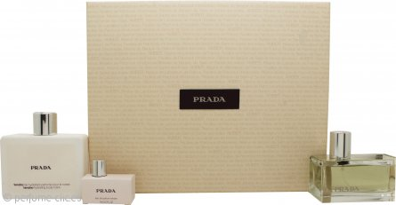 Prada Tendre Set de Regalo 50ml EDP + 100ml Loción Corporal + Mini