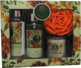 Taylor of London Tweed Set de regalo 118ml EDT + 118ml Gel de baño + Vela + Esponja