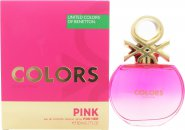 Benetton Colors de Benetton Pink Eau de Toilette 80ml Spray
