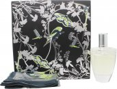 Lalique Fleur De Cristal Gift Set Set 100ml EDP + Shawl