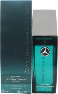 Mercedes Benz VIP Club Pure Woody Eau de Toilette 100ml Spray