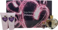 Vera Wang Princess Confezione Regalo - 50ml EDT + 75ml Lozione Corpo + 75ml Foamy Body Polish + 4ml EDP