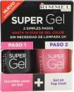 Rimmel Super Gel Gift Set 12ml Angel Wing + 12ml Top Coat